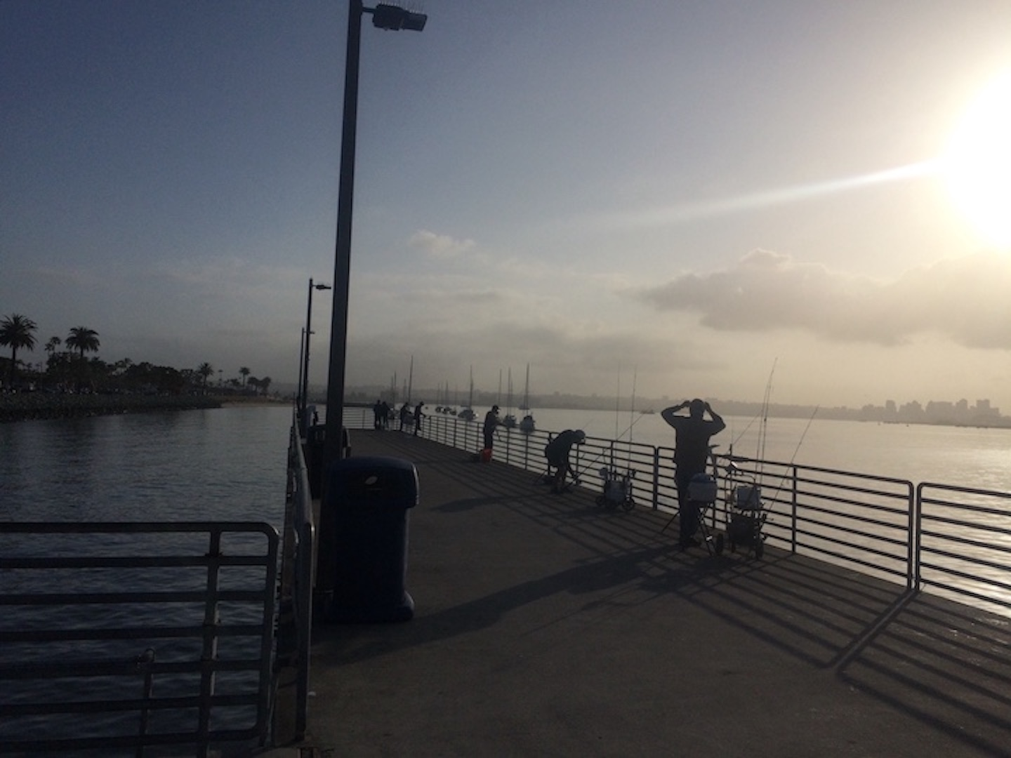 Shelter Island pier on a Friday morning in April. Photo taken by Nina Venuti.