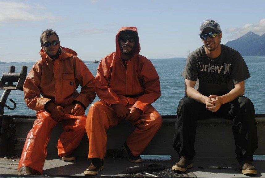 fishermen in Alaska