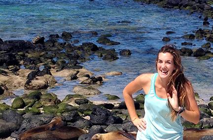 CA Sea Grant State Fellow Paige Berube