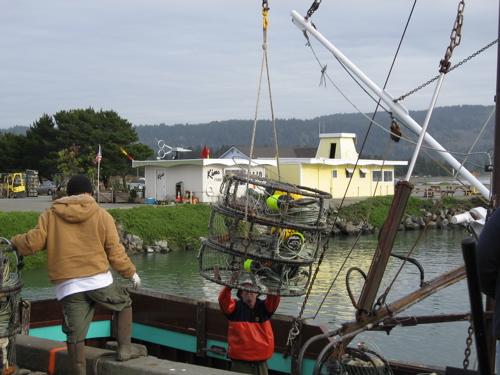 fishing boat and fisherman