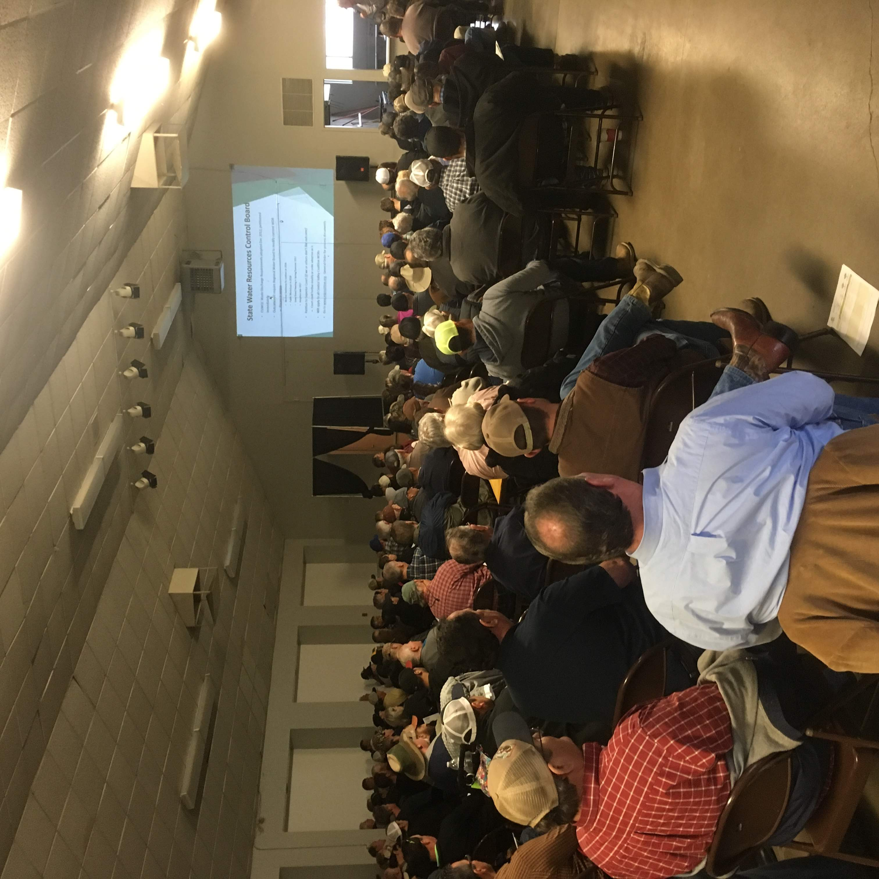 Grower meeting with Jessica Rudnick
