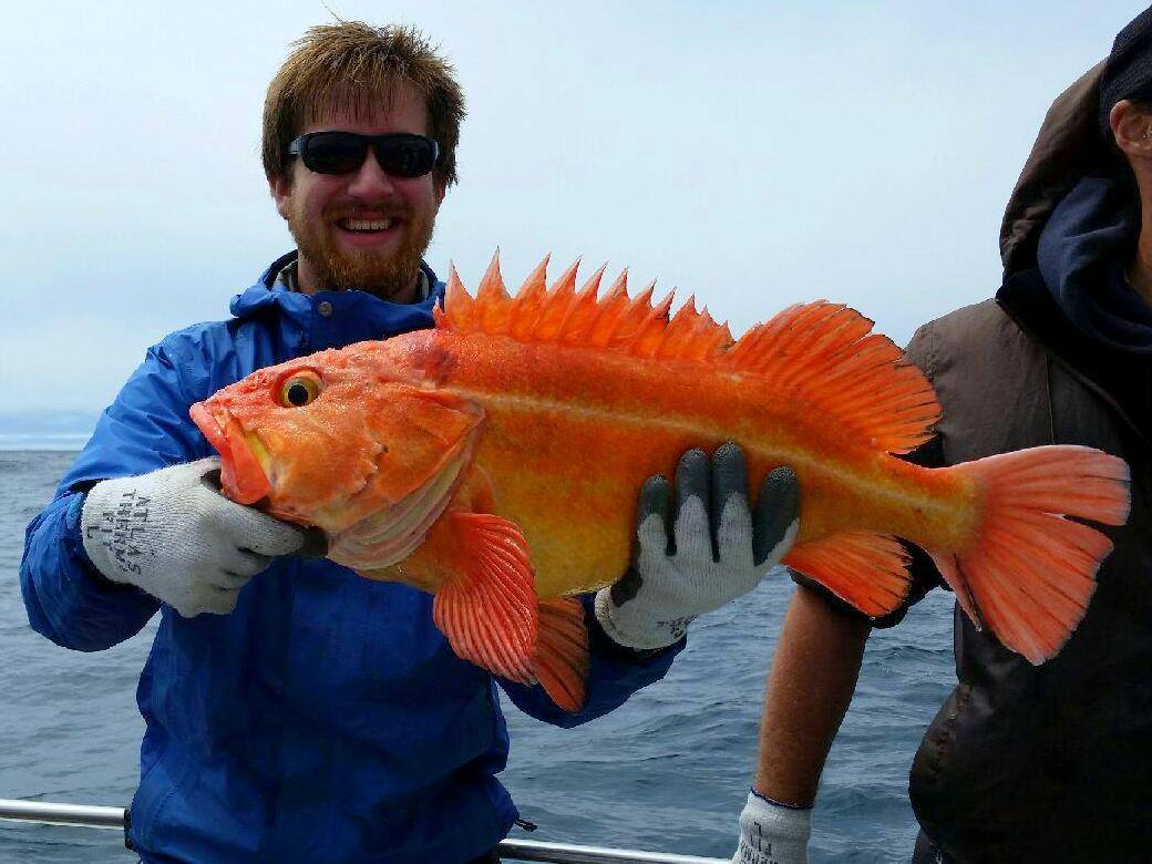 California Sea Grant State Fellow Ian Kelmartin