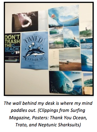 Image of ocean-themed posters