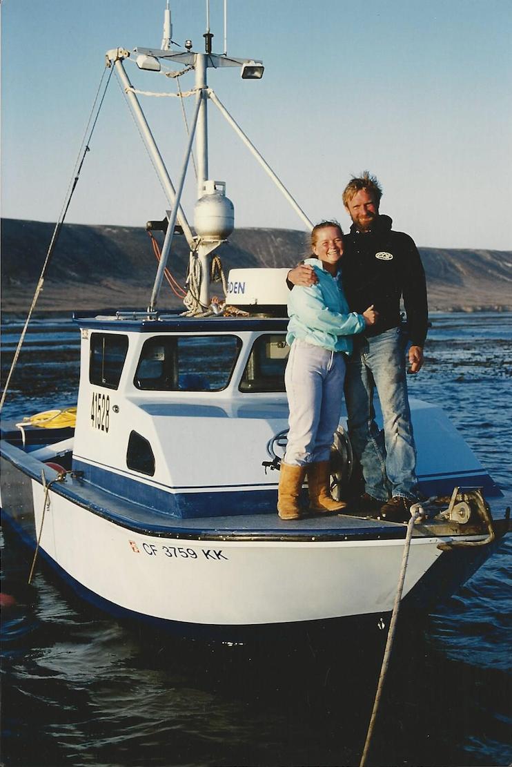 Jeremiah and Trudy O'Brien. Photo courtesy Jeremiah O'Brien