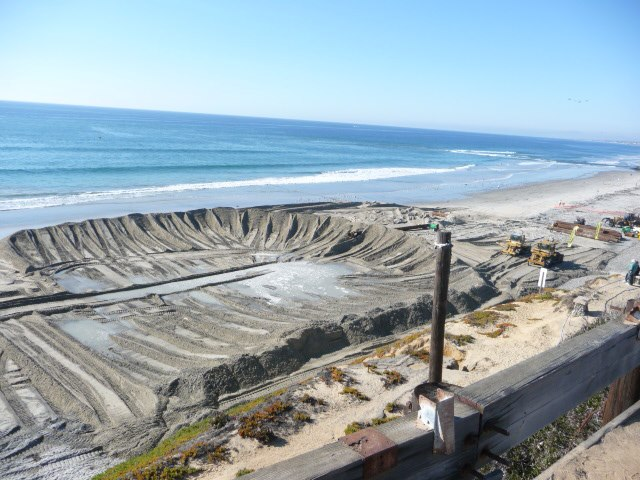 sediment fill in encinitas