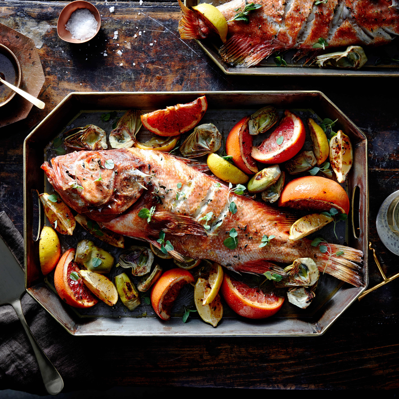 Vermilion Rockfish seafood