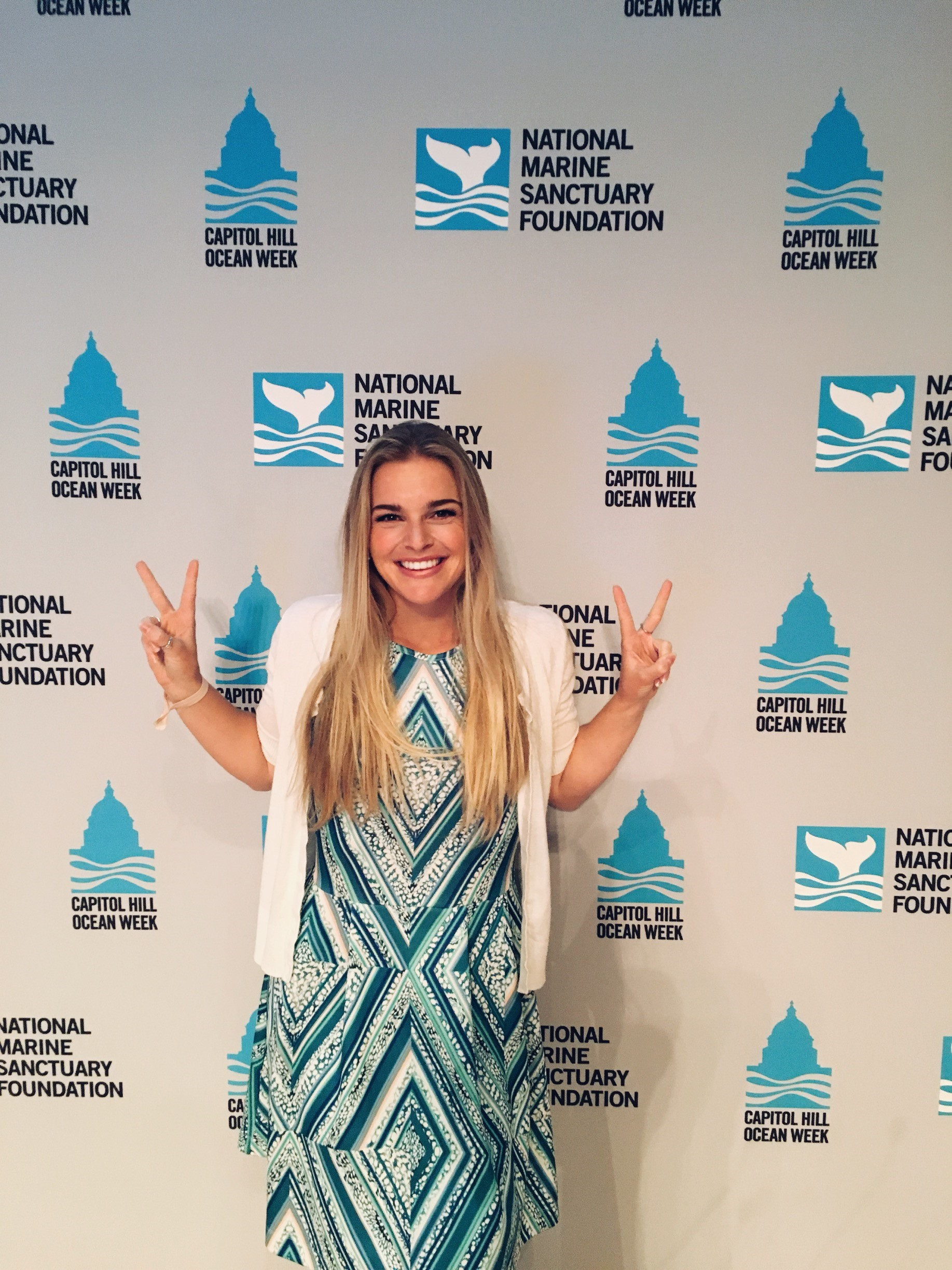 California Sea Grant State Fellow Whitney Berry attends Capitol Hill Oceans Week in D.C.