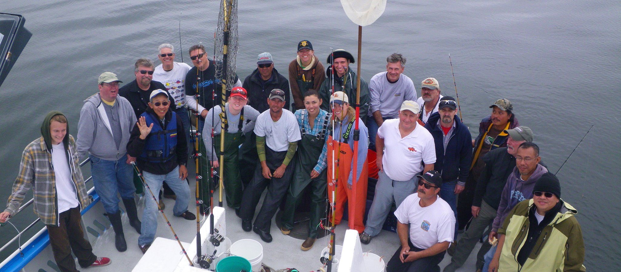 fishing crew for collaborative fisheries