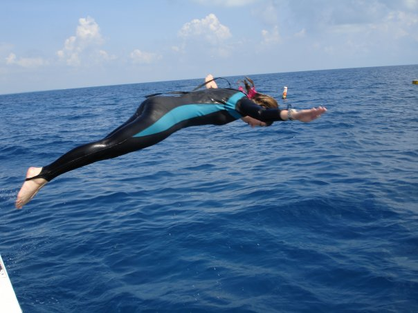 Brenna Mahoney prepares to dive into her career. Image courtesy of Brenna Mahoney