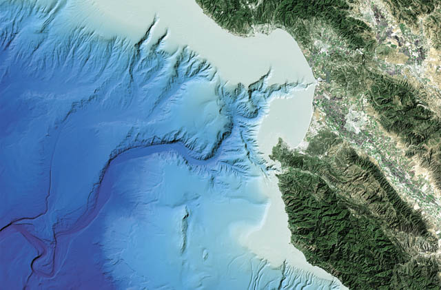 monterey canyon underwater map