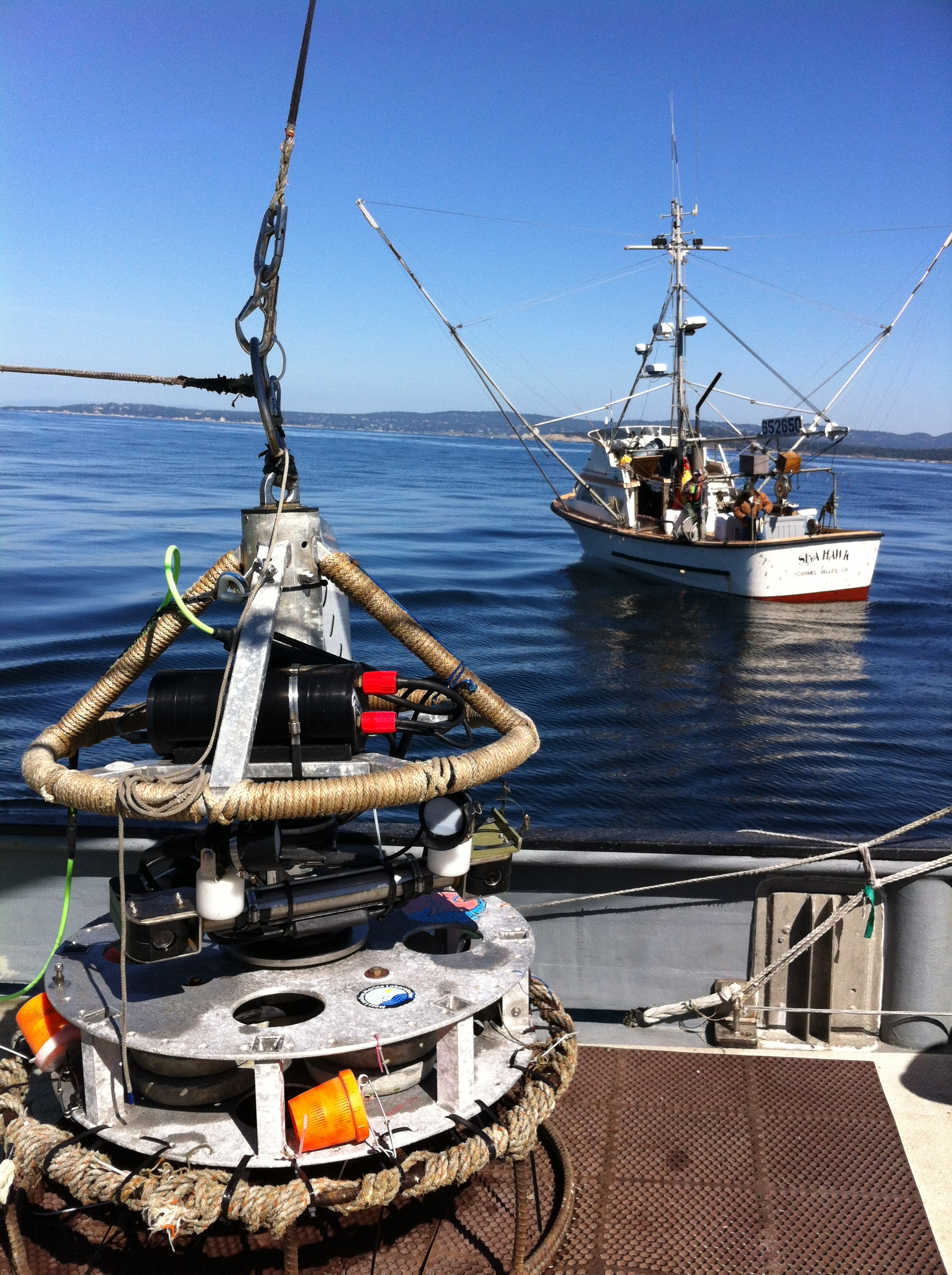 Video lander to be deployed off the F/V Donna Kathleen while F/V Sea Hawk fishes using standardized hook-and-line methods in adjacent waters
