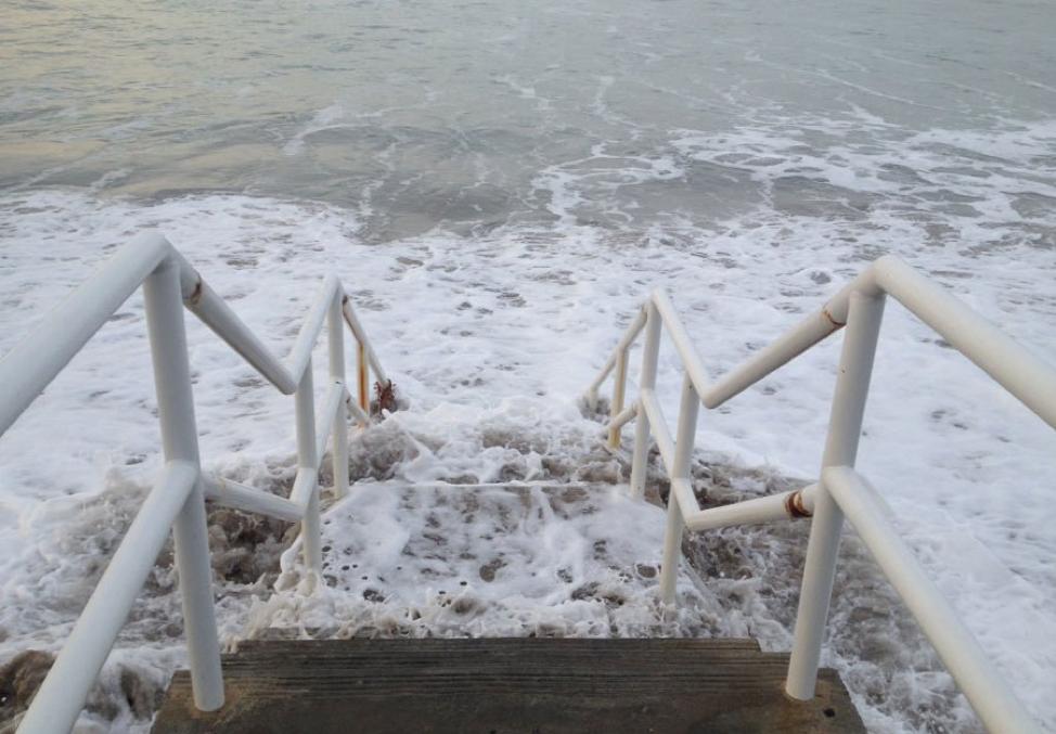 Broad Beach in Malibu (LA Waterkeeper, King Tides Project)