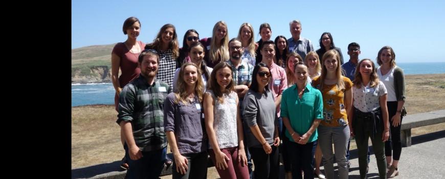 state fellows group photo taken in spring 2018
