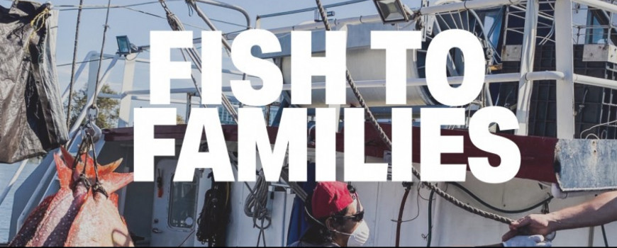 fish to families text over fishing boat