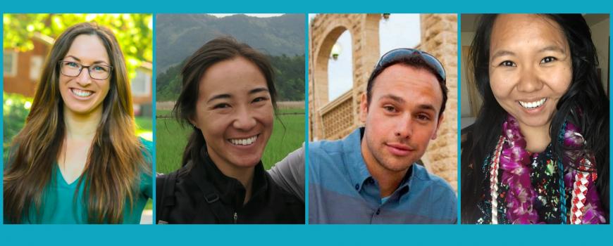2017 Knauss Fellows from California Sea Grant