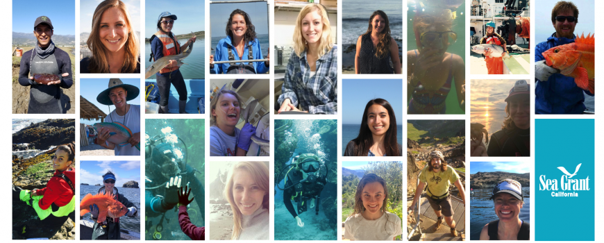 2018 California Sea Grant State Fellows