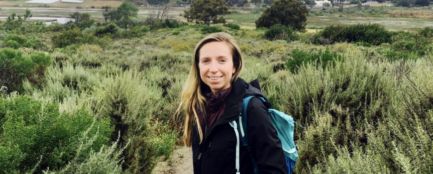 Madelyn Roycroft is the new Program Analyst at California Sea Grant