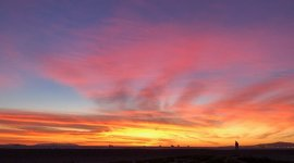 A sunset over Sunset Beach in Huntington Beach, CA. Image courtesy of project interviewees.