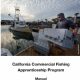 california commercial fishing apprenticeship program manual
