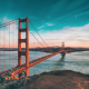 golden gate bridge -via canva
