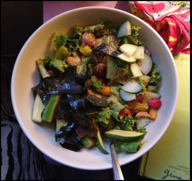 veggie/wakame bowl